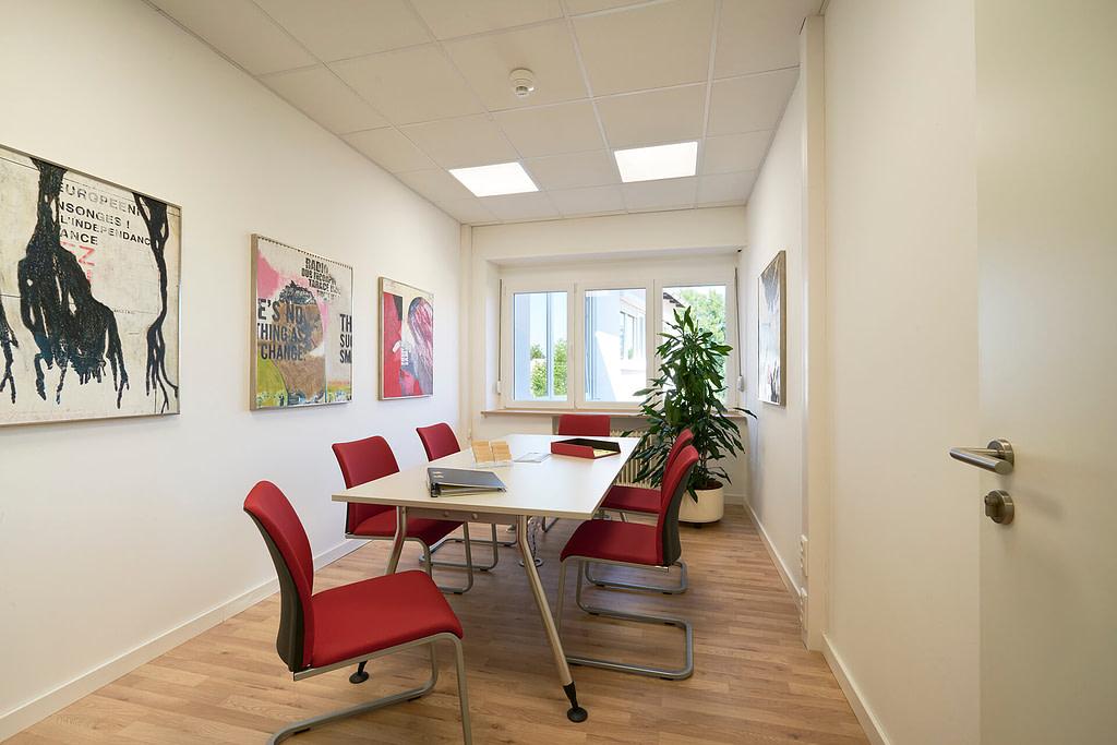 Unsere Anwaltskanzlei in Rosenheim - Besprechungszimmer