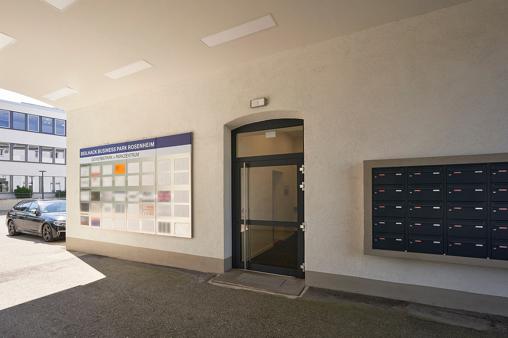 Unsere Anwaltskanzlei in Rosenheim - Eingang