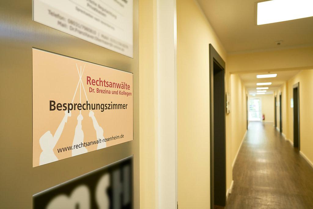 Unsere Anwaltskanzlei in Rosenheim - Flur