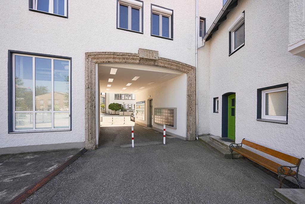 Unsere Anwaltskanzlei in Rosenheim - Innenhof